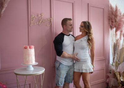 Pink Pampas Candyland: Baby Shower at Sapling Event Space