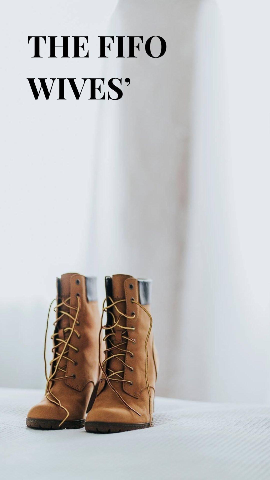 FIFO wedding planner Perth timberlands boots heels